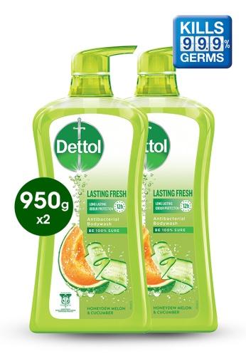 Dettol Dettol Body Wash Lasting Fresh 950g - Bundle of 2 E3F38ESF3CDA84GS_1