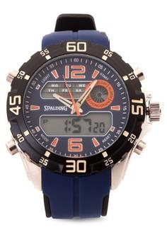Quartz Analog Digital Watch SP-051 BLU