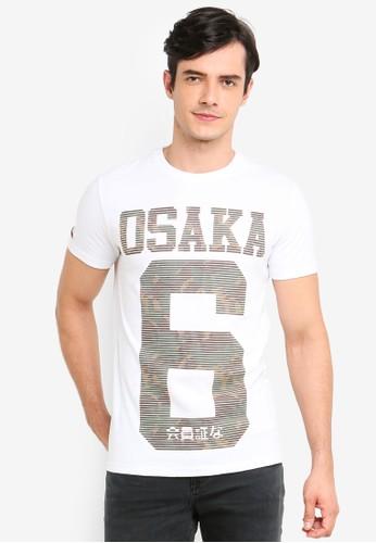 Superdry white Osaka Neon Tee 45F67AA56F4811GS_1
