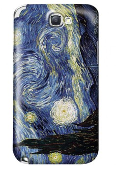 Starry Night Matte Hard Case for Samsung Galaxy Note 2