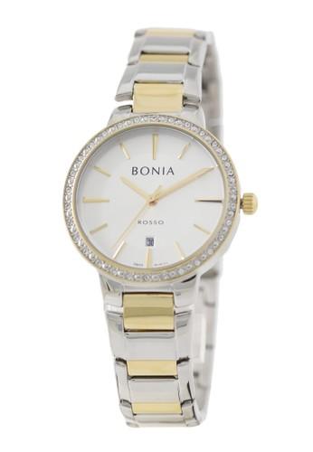 BONIA gold and silver Bonia Rosso - BR160-2112S - Jam Tangan Wanita - Silver Gold D39B9ACB8514CFGS_1