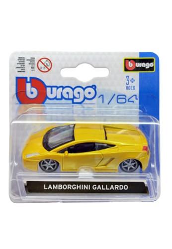 bburago gold Bburago 1.64 Asst - Lamborghini Galardo Gold 75A58TH0CF0230GS_1