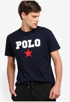bd4df940 Polo Ralph Lauren navy Short Sleeve Crew Neck T-Shirt 68A83AA2002002GS_1