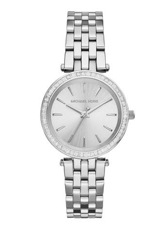 35fd5918270 MICHAEL KORS silver Petite Darci Silver Dial Steel Ladies Watch MK3364  ED600ACF2AFA22GS 1