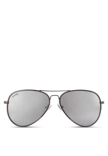 Taylor 細框飛行員太陽眼鏡, 飾品esprit hong kong 分店配件, 飛行員框