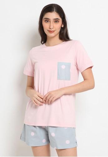 Possession pink Possession Pajamas Set 7235 06081AA026F6E9GS_1