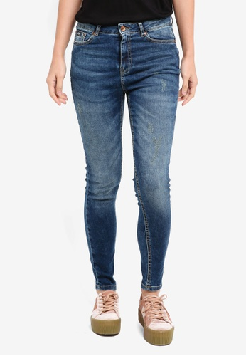 Superdry blue Mila Jegging SU137AA0T1ZYMY_1