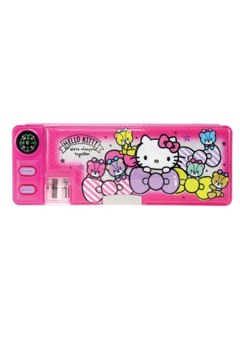 Hello Kitty pink Hello Kitty Bow Magnetic Pencil Case 9851EKC18EEC53GS_1
