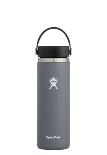 Hydro Flask grey Hydro Flask Wide Mouth 2.0 Insulated Stainless Steel Drinking Water Bottle Stone - 20OZ 1786EAC6362CA9GS_1