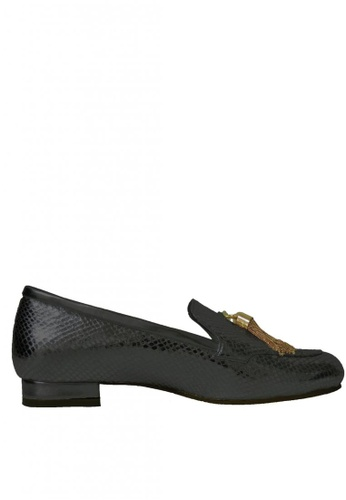 Jacque black Orly Black Loafer with Bell JA262SH24UJZMY_1