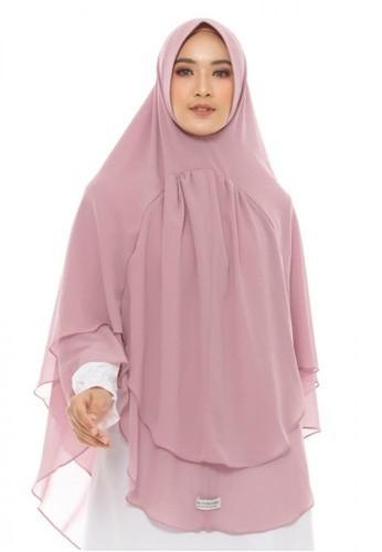 LAV INDONESIA pink Khimar Hijra EEDC6AA1279A3EGS_1