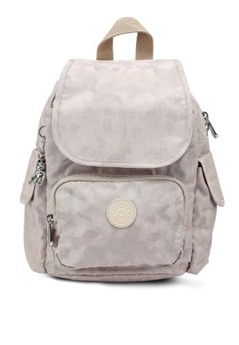 Kipling beige Ciy Pack Mini Cloud Jq Backpack 1F090ACE9F8A29GS_1