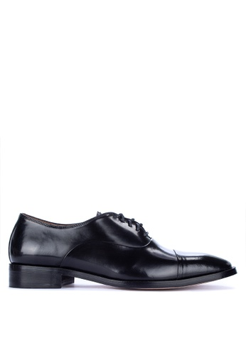 Bristol Shoes black Bryson Cap Toe Oxford 034D9SHC39EE1BGS_1