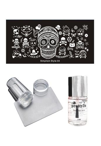 Pretty2u Nail Art Stamp Plate SS04 Set PR716BE38EJHMY_1