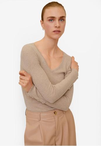Mango grey Lightweight Knit Sweatshirt FF0C7AA1AD1B9BGS_1