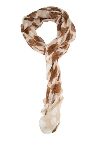 花卉點點圍巾, 飾品配件, esprit 請人飾品配件