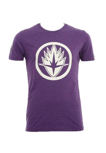 MARVEL purple MARVEL Avengers Men T Shirt Purple BF543AA1D54B01GS_1