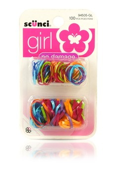 Two Tone Poly Bands (100 Pieces Set)