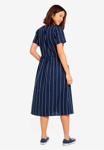 0964965e5c7 Buy Cotton On Woven Camila Button Through Midi Dress Online on ZALORA  Singapore