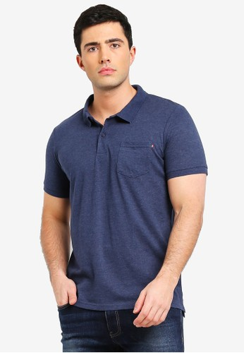 Cotton On navy Icon Polo Shirt AF673AA74A7EB6GS_1