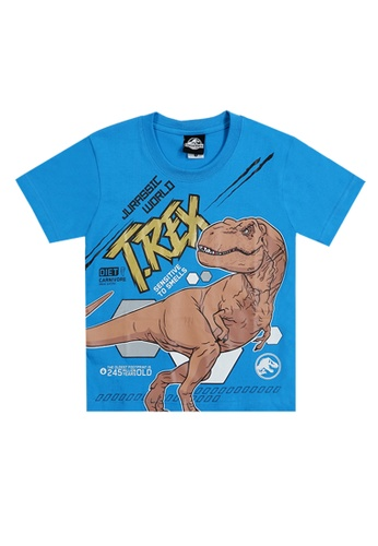 Jurassic World blue Jurassic World T-Shirt C1B15KAD2A23A8GS_1
