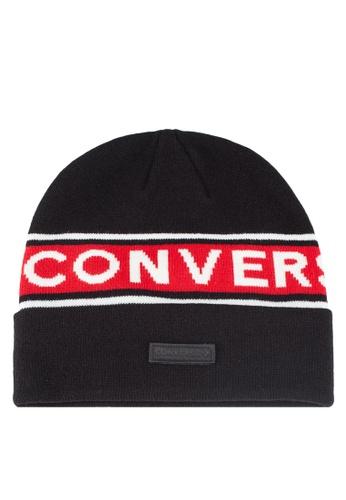 Converse black Converse All Star Graphic Beanie E33F2AC8EEFF51GS 1 781d04491d6