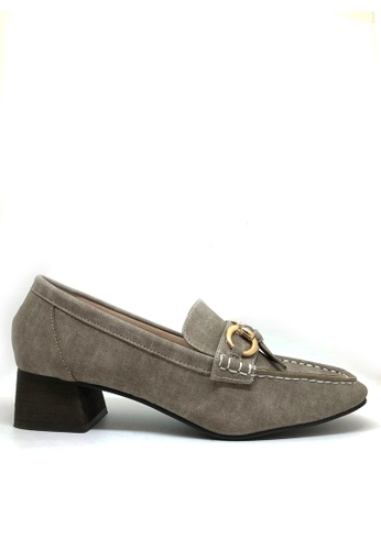 Twenty Eight Shoes grey Low Heel Loafers 2018-19 79CD1SHE4F72E4GS_1