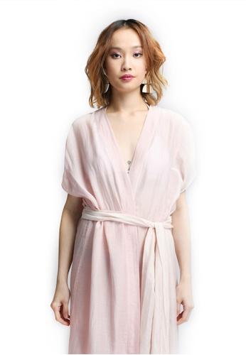 Akosée pink AKOSÉE Kimono CB53EAA57CC82BGS_1