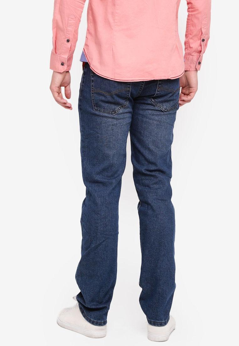 Fidelio Straight Slim Denim 565 Jeans Blue wax7S06q