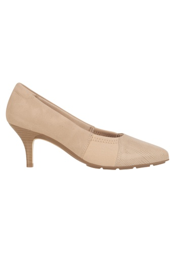 Beira Rio beige Patch Work Solid Colored Elegant Shoes MO998SH97EVQHK_1