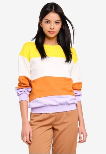 ESPRIT yellow and multi Long Sleeve Sweatshirt CBC95AA3FC4B81GS_1