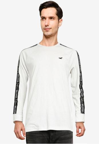 Hollister 白色 Jersey 圖案T恤 2FA46AAF78E379GS_1