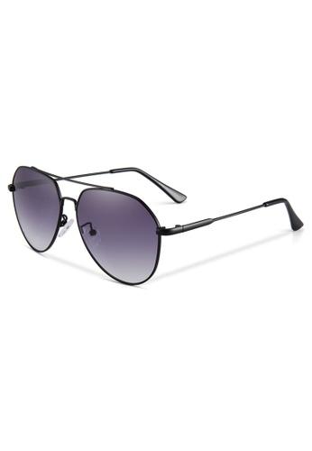 Quattrocento Eyewear Quattrocento Eyewear Italian Sunglasses with Dark Lenses Model Marino FD76CGLFD1D3BBGS_1