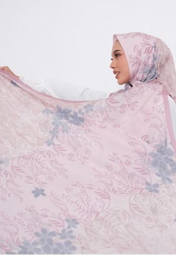 Harra Scarves pink and multi Rose series - Tart C8556AA05E0B00GS_1