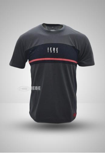 IEBE Kaos Lengan Pendek Casual IEBE L1BI8030 4A589AA1106535GS_1