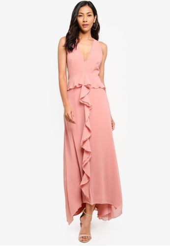 Little Mistress pink Apricot Gown F1BDEAA153C8CFGS_1