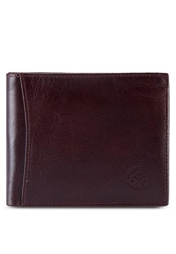 Lumberjacks red Lumberjacks Genuine Leather Wallet LU545AC89PBYMY_1