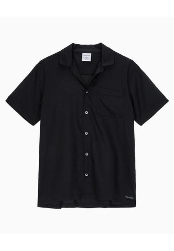 Calvin Klein Calvin Klein Men Tencel Lounge Shirt NM1819AD8HM B1E4DAA471063EGS_1