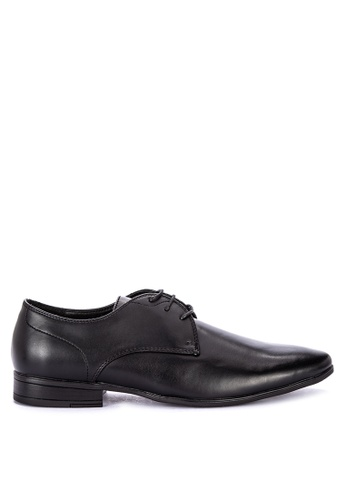 MARKS & SPENCER black Lace-up Derby Shoes BD441SH2C07C48GS_1