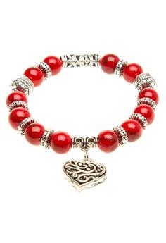 Coral Pandora Bracelet