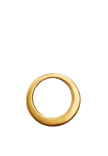Mango gold Simple Metal Ring C9527ACD98E592GS_1