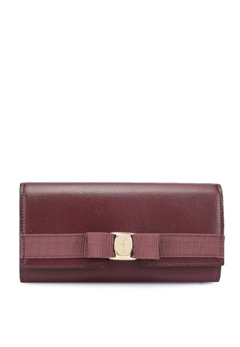 Ferragamo purple New Vara Wallet (zt) 287A9AC52DA137GS_1