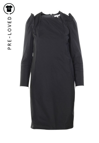 Carven black Pre-Loved carven Black Dress 2C73AAA4ADCFD6GS_1