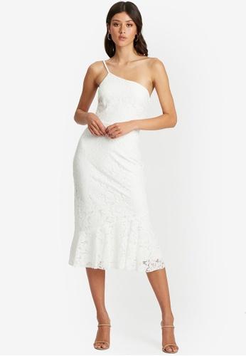 Chancery white Miri Midi Dress 5582BAA92E907AGS_1