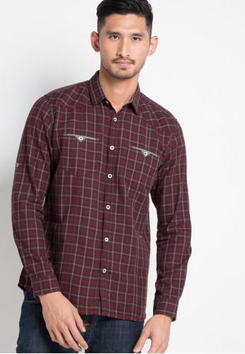 Watchout! Jeans red Long Sleeve Shirt 129 WA971AA91EKQID_1