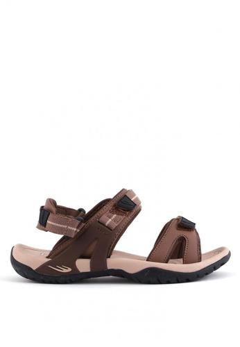 World Balance brown Sophia L Sports Sandals 84E2CSHAD8EFF8GS_1