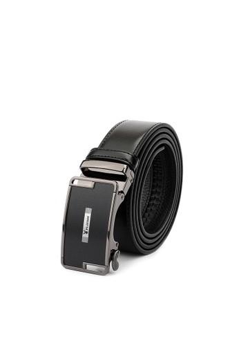 Playboy black 35mm Genuine Leather Auto Belt 73E58ACAF36828GS_1