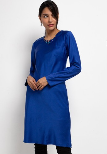 LUIRE by Raden Sirait blue FM Inner Lengan Panjang Midi SPL FFF06AA8AA1340GS_1