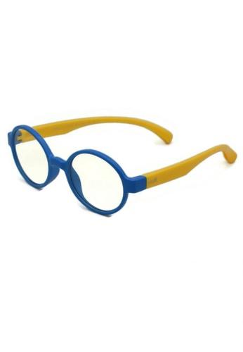 jojo multi Round Blue Light Filtered Glasses B9C94KCA3915B1GS_1