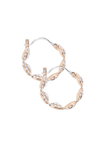 b0f48bfd2ca13b Buy Swarovski Angelic Hoop Pierced Earrings Online | ZALORA Malaysia